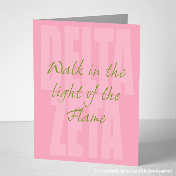 Delta Zeta Notecards - \